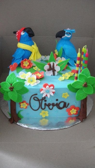 Rio - by Ana01 @ CakesDecor.com - cake decorating website