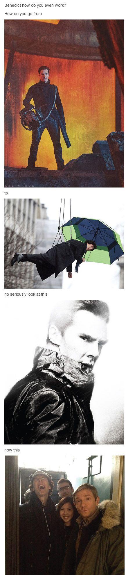 Benedict Cumberbatch, Folks.