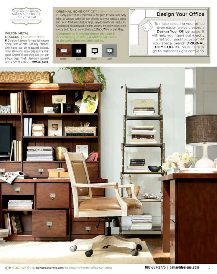 ballard designs catalogue furniture usa home office