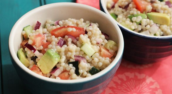 Cool Couscous Pasta Salad (veggie)...great for summer