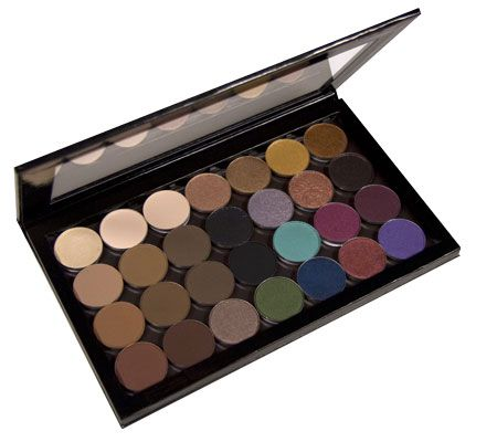 Z Palette.Finally an empty palette with a clear top.must have for my depotted MAC eyeshadows.