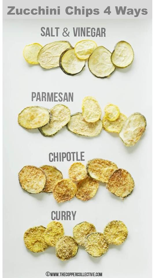 Zucchini chips | Healthy foods | Pinterest