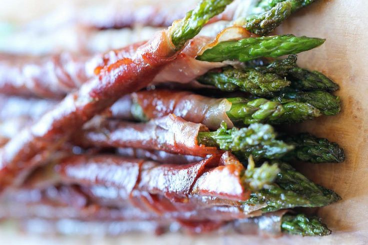 Prosciutto Wrapped Asparagus | Bustle
