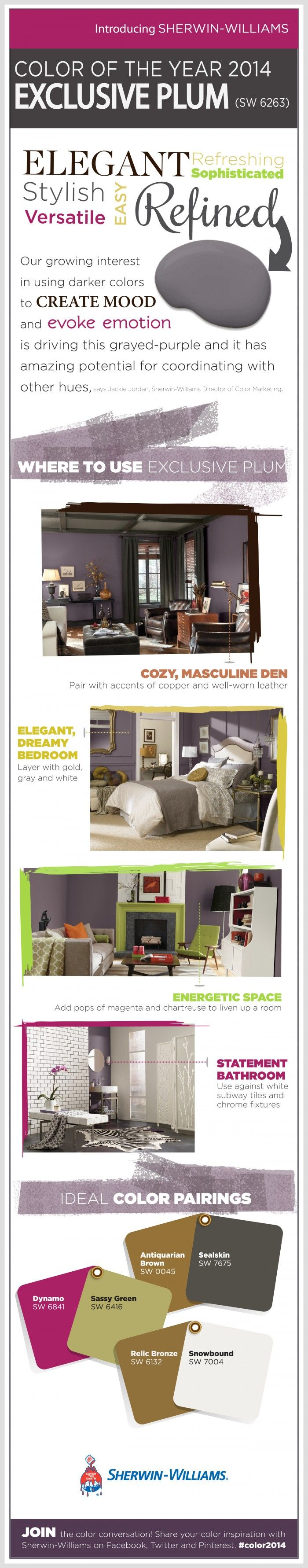 Sherwin-Williams 2014 Color of the Year on SixSistersStuff.com. Come ...
