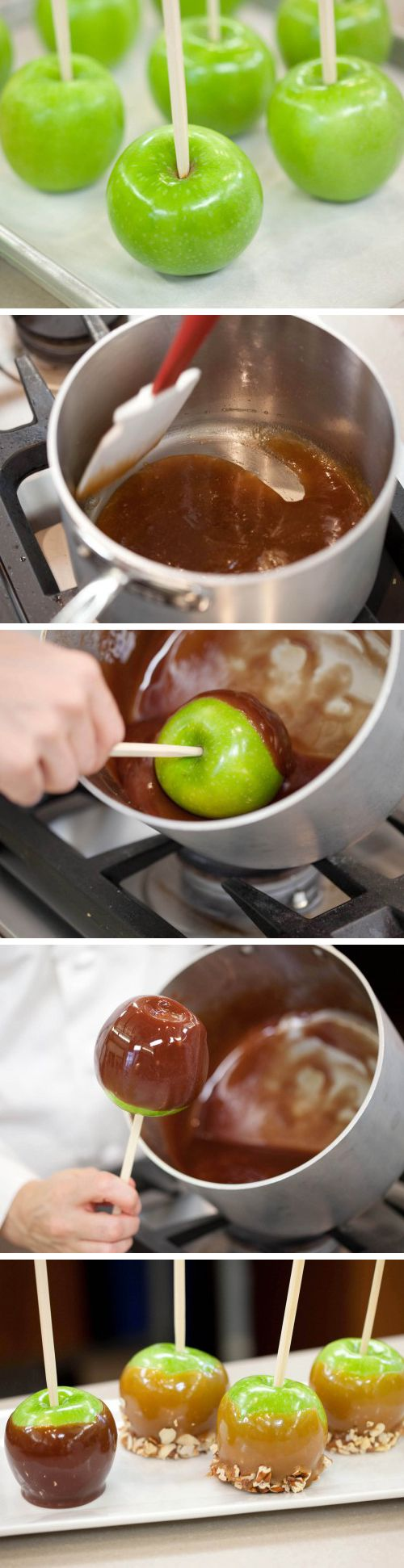 How to Make Red-Wine Caramel Apples. A childhood favorite gets all ...