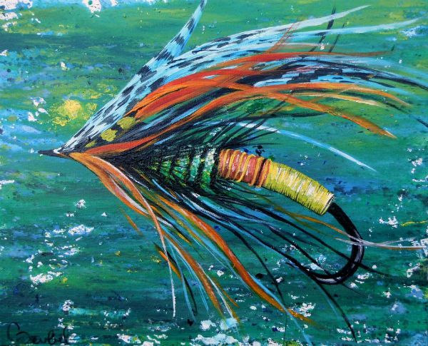 Fly fishing watercolors bing images painting pinterest for Fly fishing art