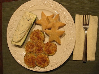 Oven Fried Zucchini Chips With Basil Dipping Sauce Recipe — Dishmaps