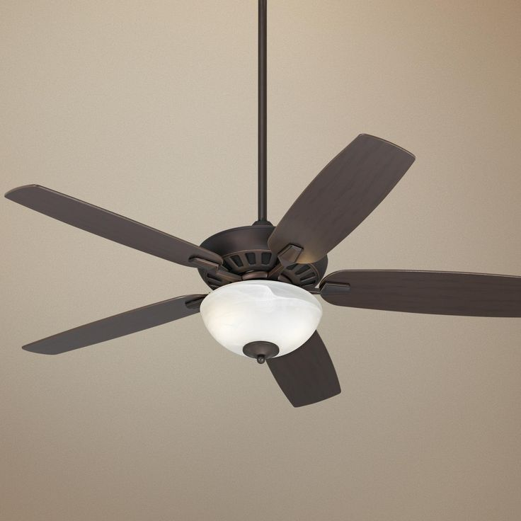 52 journey oil rubbed bronze ceiling fan with light kit lamps plus. Black Bedroom Furniture Sets. Home Design Ideas