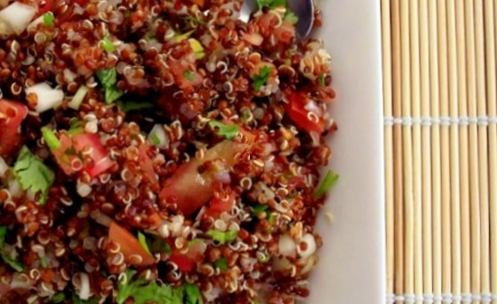 Red Quinoa & Spring Herb Tabbouleh (makes 4 servings; total cost per ...