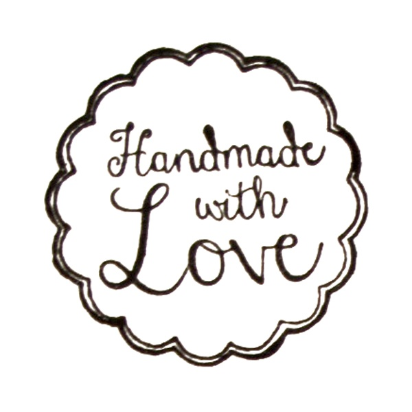 Tampon « handmade with love » | Tampon | Pinterest