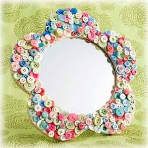 The Craft Junkie: button crafts