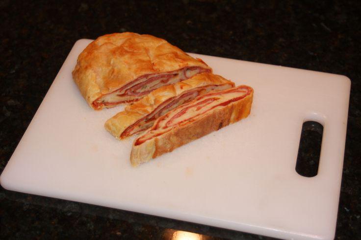 Yum... I'd Pinch That!   Stromboli, from Caroline's Kitchen