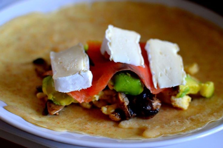 Ham And Brie Crepes Recipe — Dishmaps