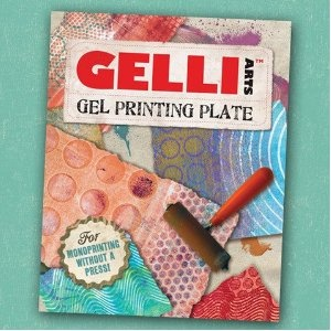 Gelli Arts 8 x 10 Gel Plate.  Make gelatin monoprints with much less mess/fuss.  $29.99