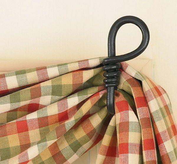 Fishtail Swag Curtain Hook - Loop   Curtains   Pinterest