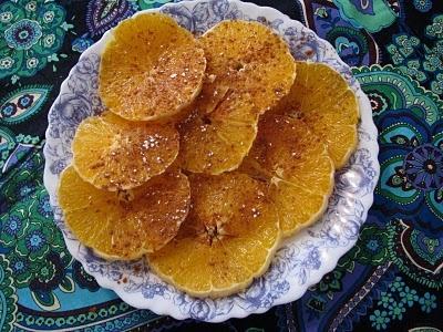 Moroccan Orange Slices with Cinnamon   Gastronomía de Marruecos, Gast ...