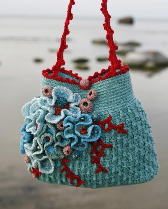 Pinterest Crochet Bags : Crochet bag.