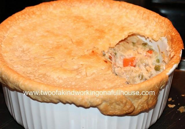 Light Chicken Pot Pie Recipe | food | Pinterest