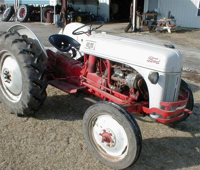 9n Ford Tractor For Sale: 8N Ford Tractors For Sale In Ohio