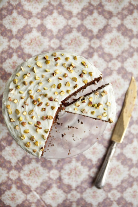 Spicy Pistachio and Carrot Cake. | T | Pinterest