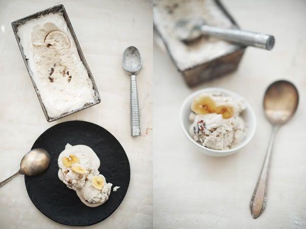 Banana-Rum-Raisin Ice Cream from Martha Stewart Everyday Food