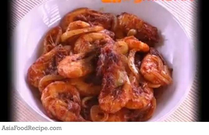 Singapore Chilli Prawns. | Recipes to try! | Pinterest