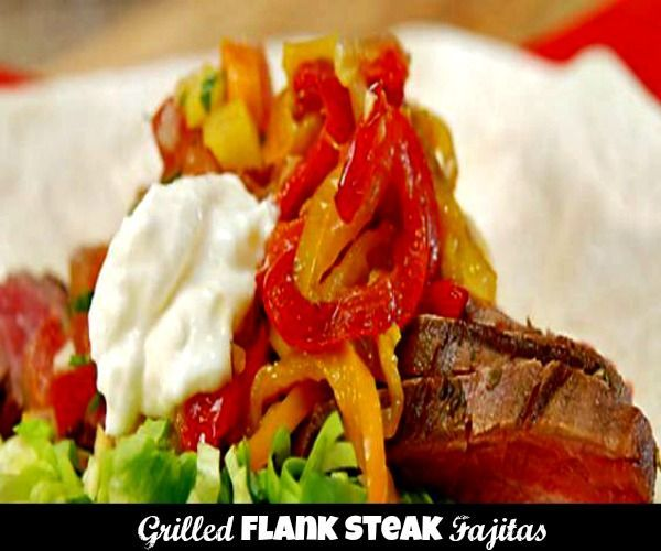 Steak Fajitas. Tender strips of well marinated and grilled flank steak ...