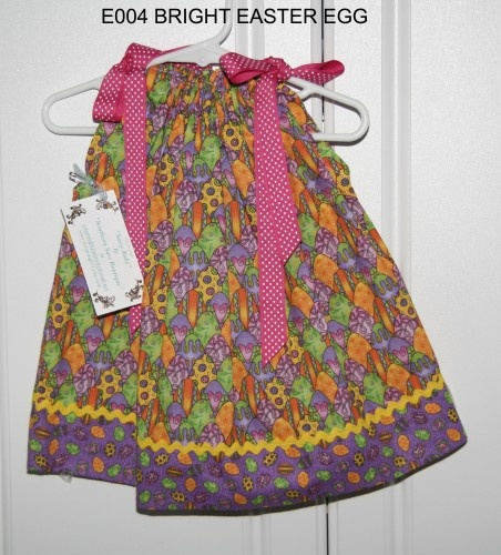 Bright Easter Egg Pillowcase Dress | sweetsouthernsass - Clothing on ArtFire