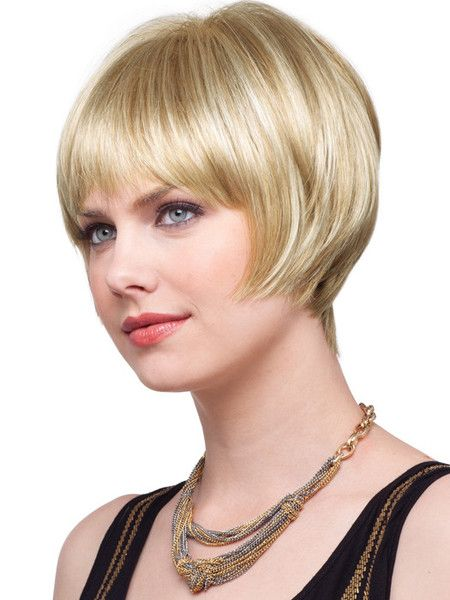 Zara is a short little bob with soft graduated layers for a chic look ...