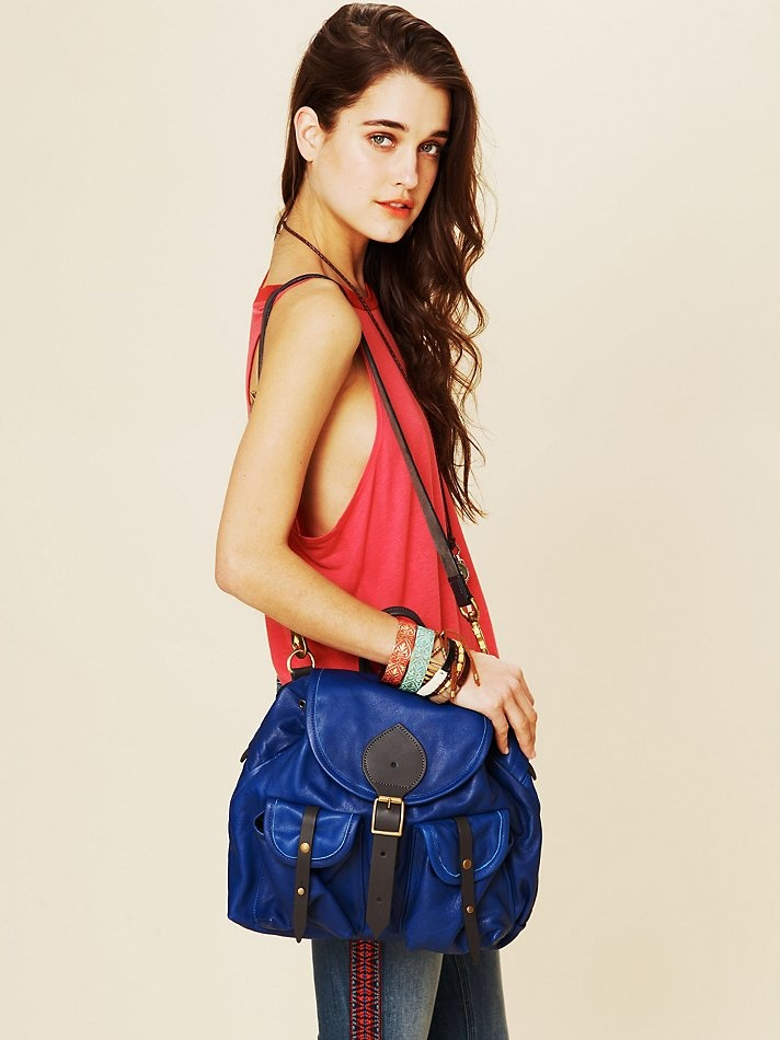 Free people Bomber Satchel, absolutely love!