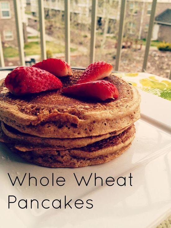 Whole Wheat Pancakes | Foodies | Pinterest