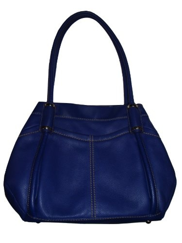 Women's Tignanello Genuine Leather Handbag (Blue) « Stylish And ...