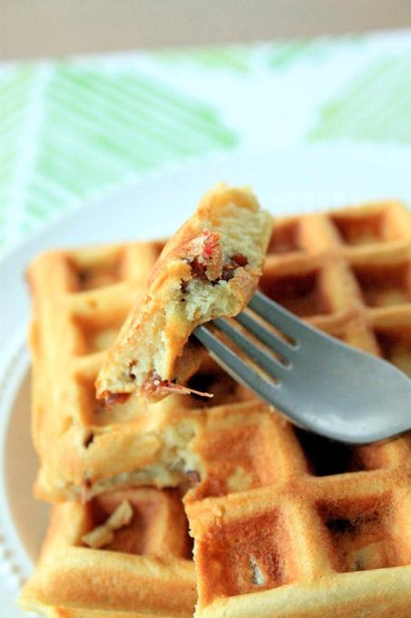 Brown Sugar Bacon Waffles | Yummie waffles | Pinterest