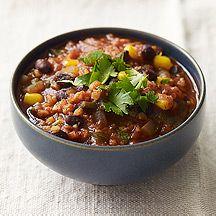 Bulgur and Bean Chili | Recipes | Pinterest