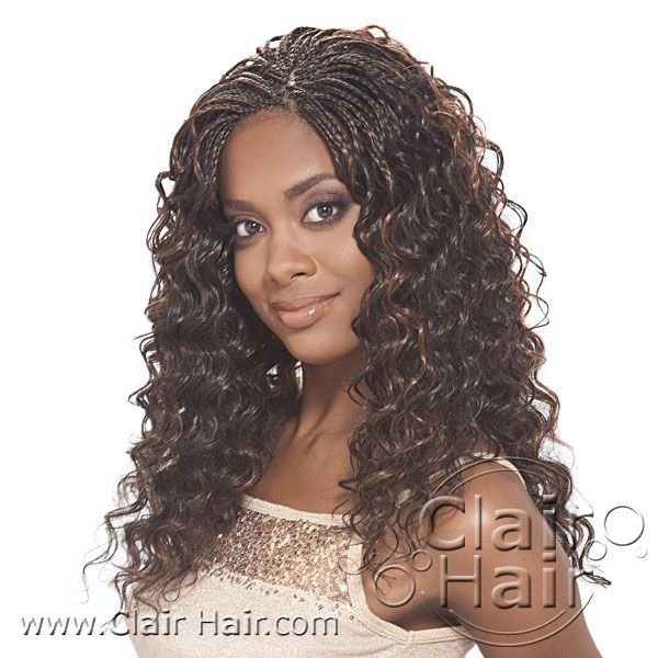 Weave Hair Salon Quality Yaki Pony Synthetic Crochet Braiding Black