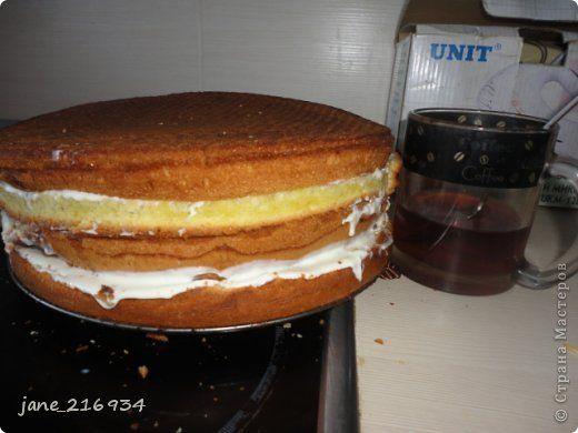 Удачный бисквита для торта