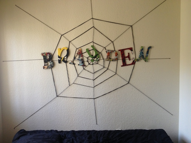 comic book themed bedroom mj