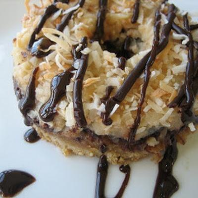 Caramel Blondies-Samoas® Brownie | Desert recipes | Pinterest
