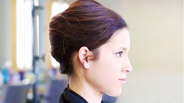 How To Turn Your Second-Day Hair Into A Pretty French Twist