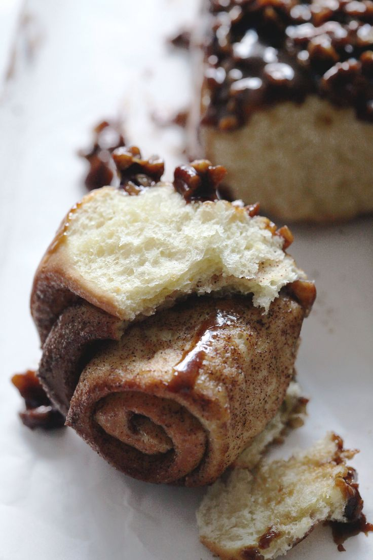 Sticky Molasses-Pecan Cinnamon Rolls | Cinnamon Rolls | Pinterest