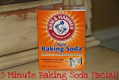 baking soda facial