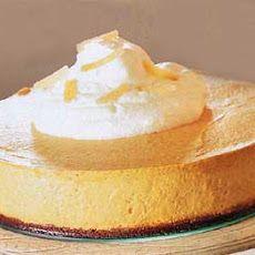 Pumpkin Chiffon Mousse with Gingersnap Crust Recipe