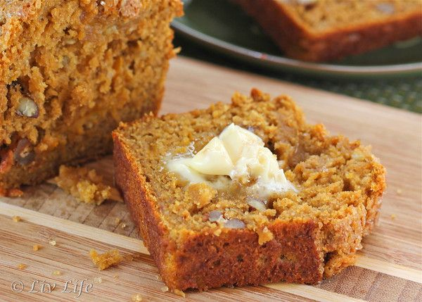Whole Grain Pumpkin Banana Nut Bread | Food: Healthy Recipes & Info ...