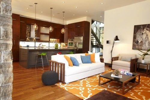 Open Concept Kitchen Living Room Combo Home Pinterest
