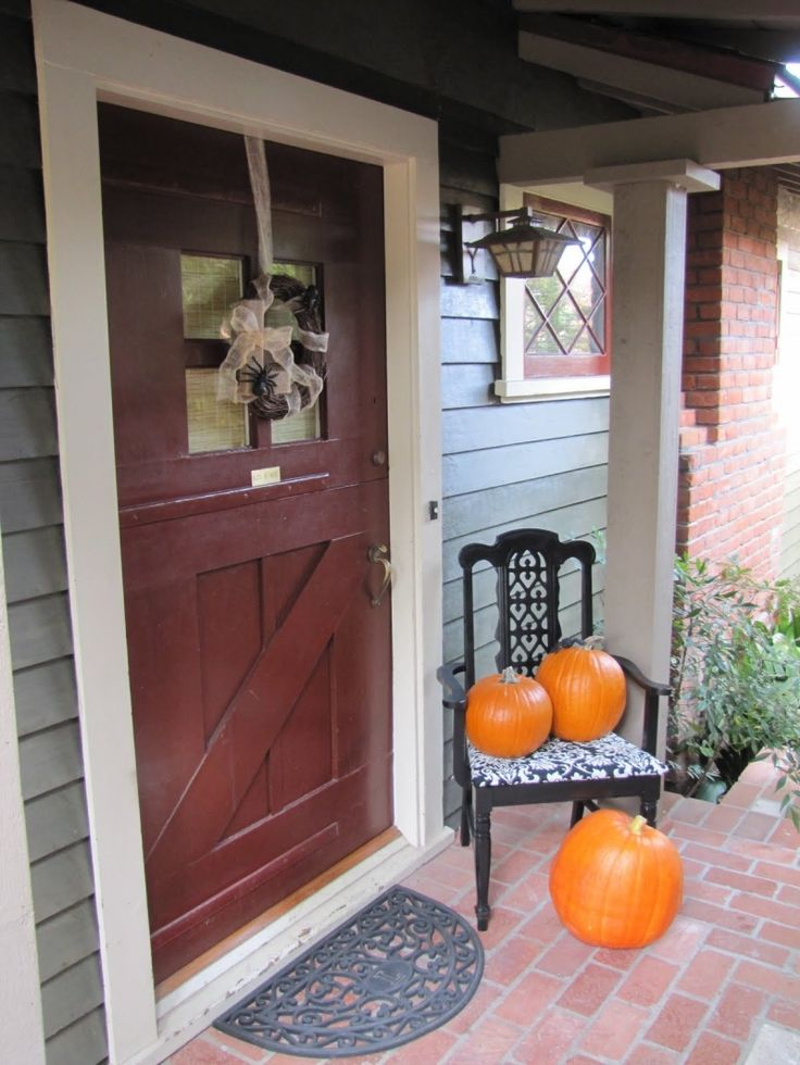 Fall front porch decorating ideas porches pinterest How to decorate your front porch for fall