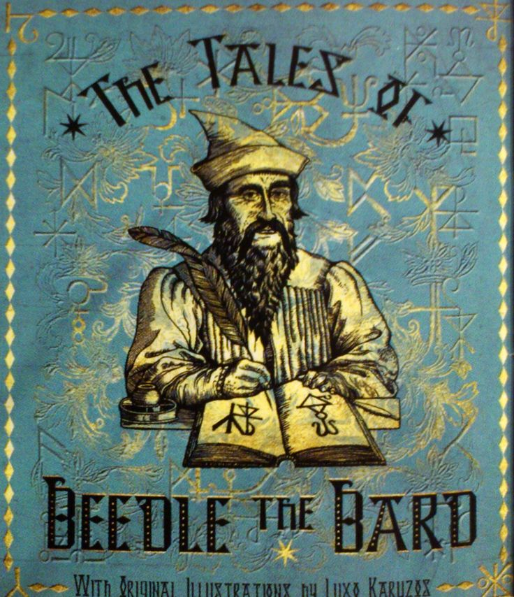 'The Tales Of Beedle The Bard'. | inspired | Pinterest
