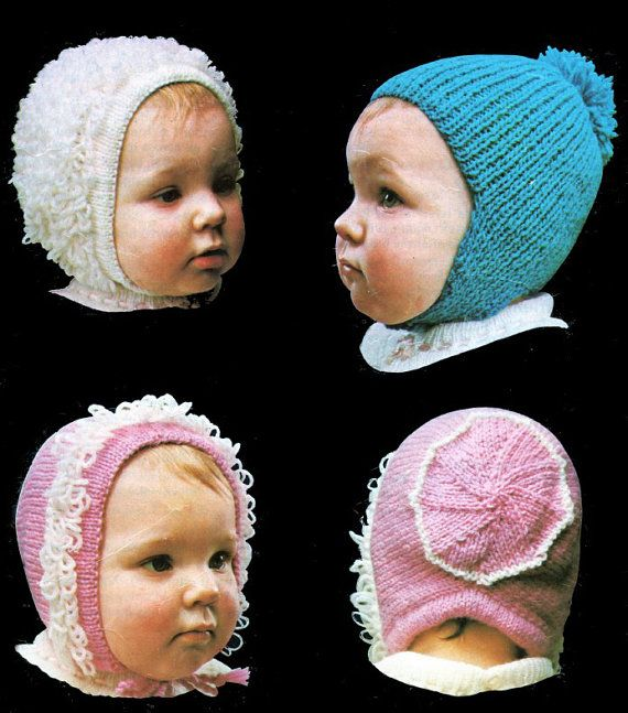 Knitted Loop Stitch Hat