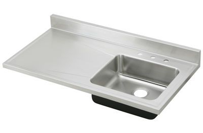 Stainless Steel Sink Tops : ... Gourmet (Lustertone) Stainless Steel Single Bowl Sink Top Sink S4819R