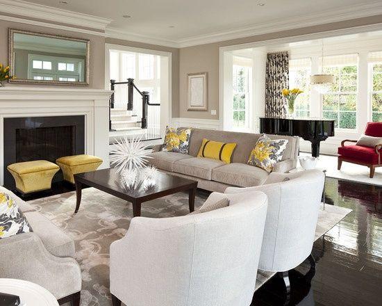 Best Yellow Beige Grey Decor Living Area Home Decor Pinterest 640 x 480