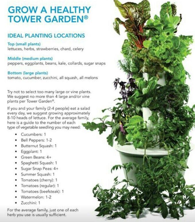 Tips When Planting Your Tower Garden Www Sandie